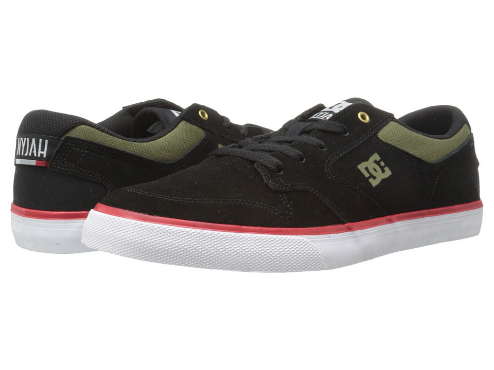 DC - Nyjah Vulc (Black Olive) Men's Skate Shoes