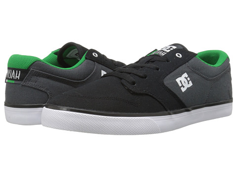 DC - Nyjah Vulc TX (Black/Grey) Men's Skate Shoes