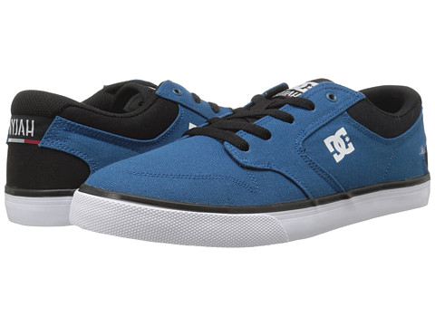 DC - Nyjah Vulc TX (Dark Antique Blue) Men