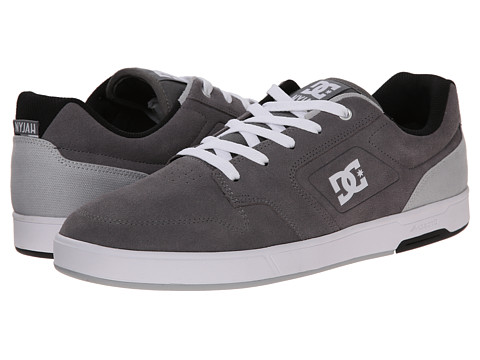 DC - Nyjah (Light Grey) Men's Shoes