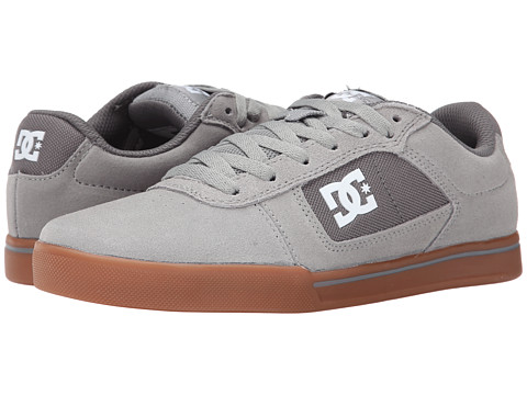 DC - Cole Pro (Grey Ash) Men's Skate Shoes