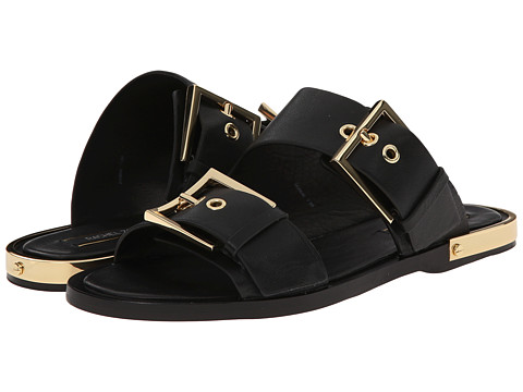 Rachel Zoe - Parla (Black Vachetta) Women's Dress Sandals