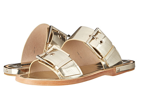 Rachel Zoe - Parla (Light Gold Brushed Metallic) Women's Dress Sandals