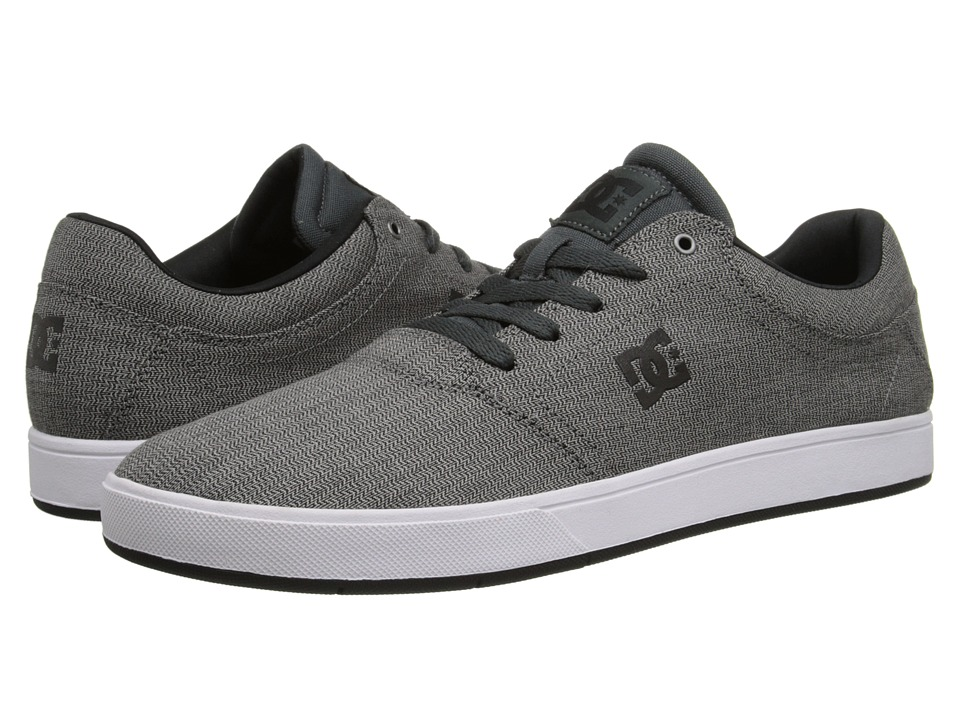DC - Crisis TX SE (Grey/White) Men's Skate Shoes