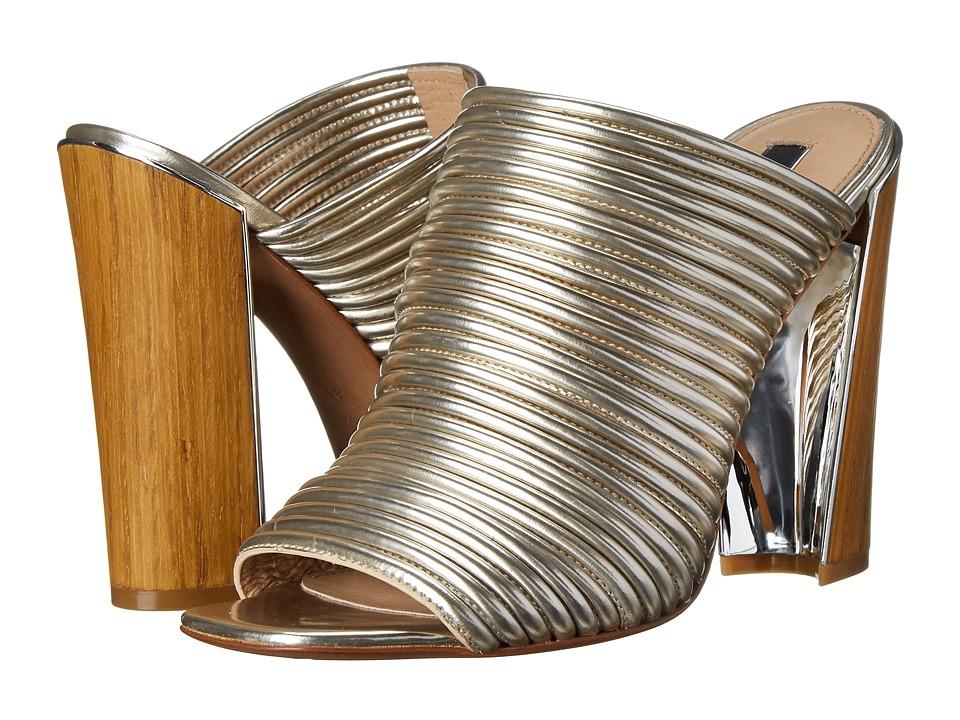 Rachel Zoe - Seneca (Ivory Mirror Metallic) High Heels