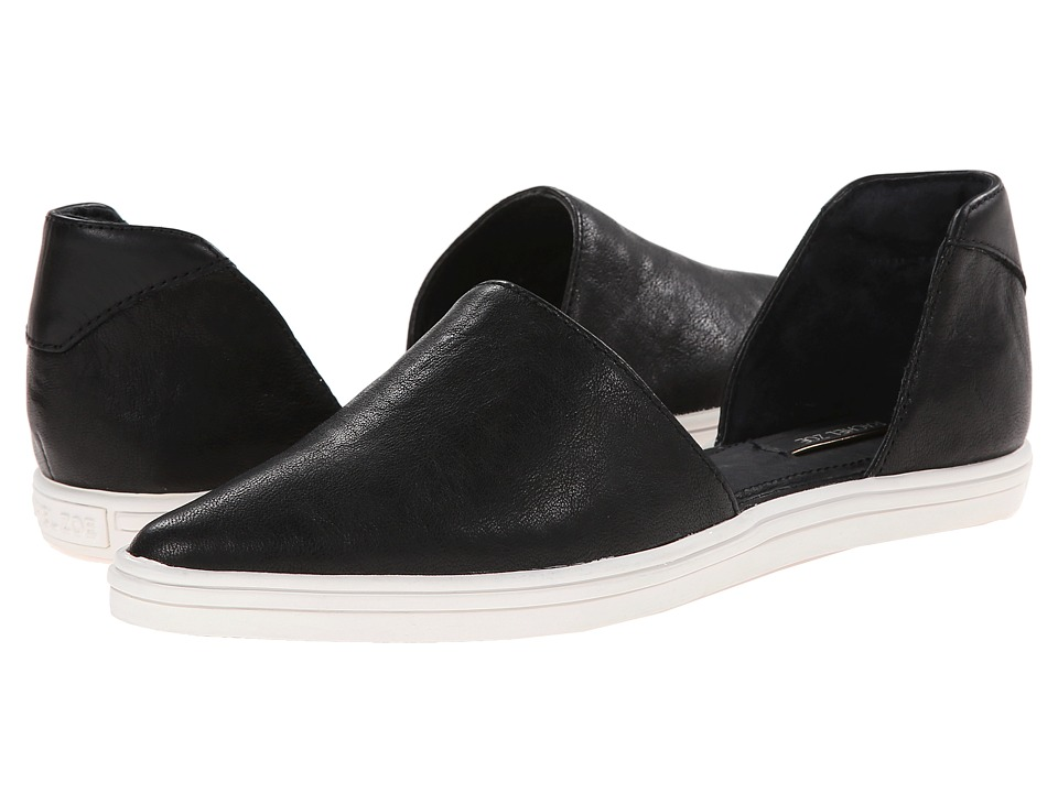 Rachel Zoe - Camden (Black Nappa Leather) Women's Dress Flat Shoes