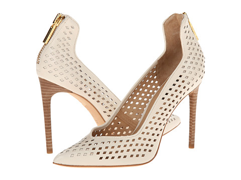 Rachel Zoe - Callie (Ivory Baby Calf Perferated) High Heels
