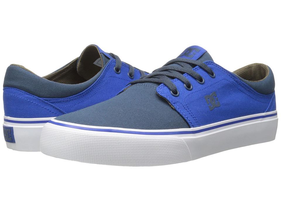 DC - Trase TX (Blue/Brown/Blue) Skate Shoes