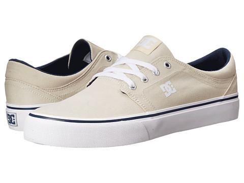 DC - Trase TX (Cream) Skate Shoes