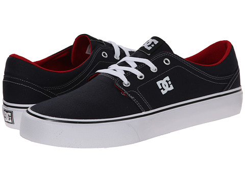 DC - Trase TX (Blue/Red) Skate Shoes