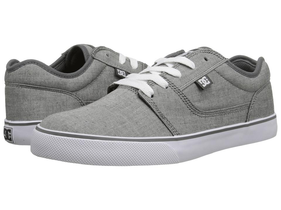 DC - Tonik TX SE (Grey/White) Men's Skate Shoes