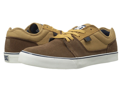 DC - Tonik (Dark Brown) Men's Skate Shoes