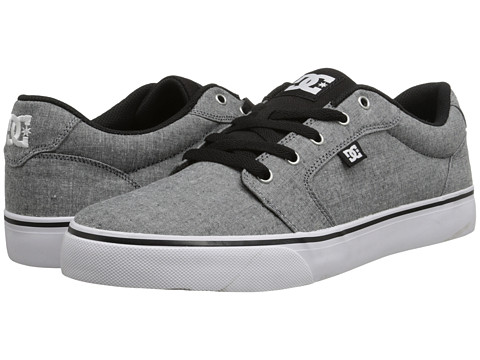 DC - Anvil TX SE (Grey/Grey/Black) Men