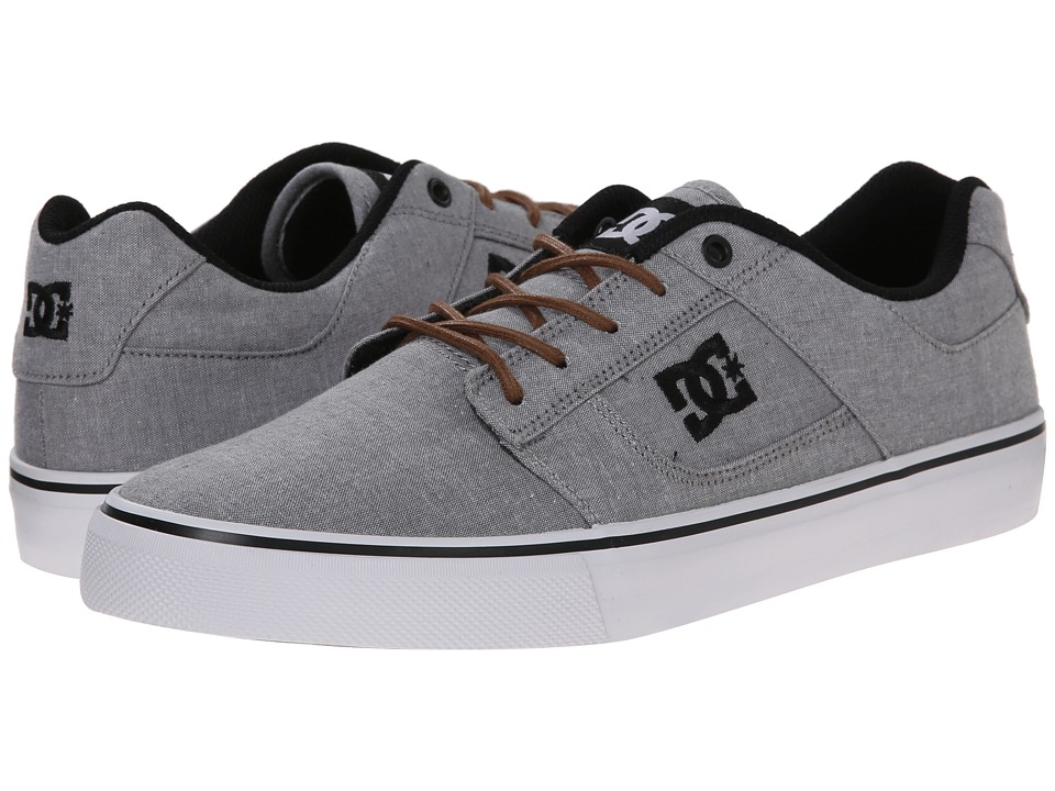 DC - Bridge TX SE (Grey/Light Grey) Men's Skate Shoes