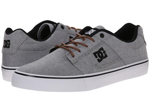 DC - Bridge TX SE (Grey/Light Grey) Men's Skate Shoes