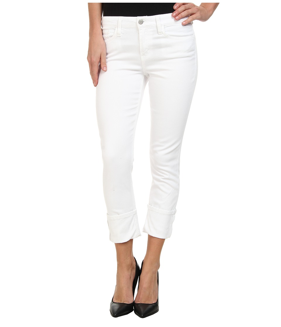 Joe's Jeans - Spotless Clean Cuffed Crop in Optic White (Optic White) Women's Jeans