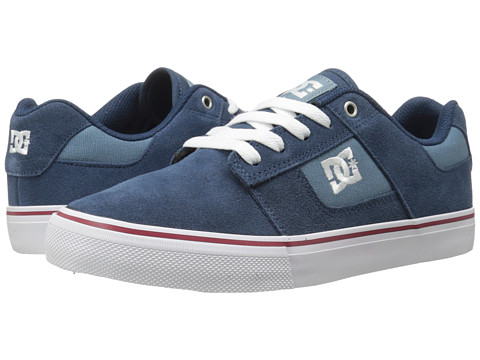 DC - Bridge (Blue/Blue/White) Men's Skate Shoes