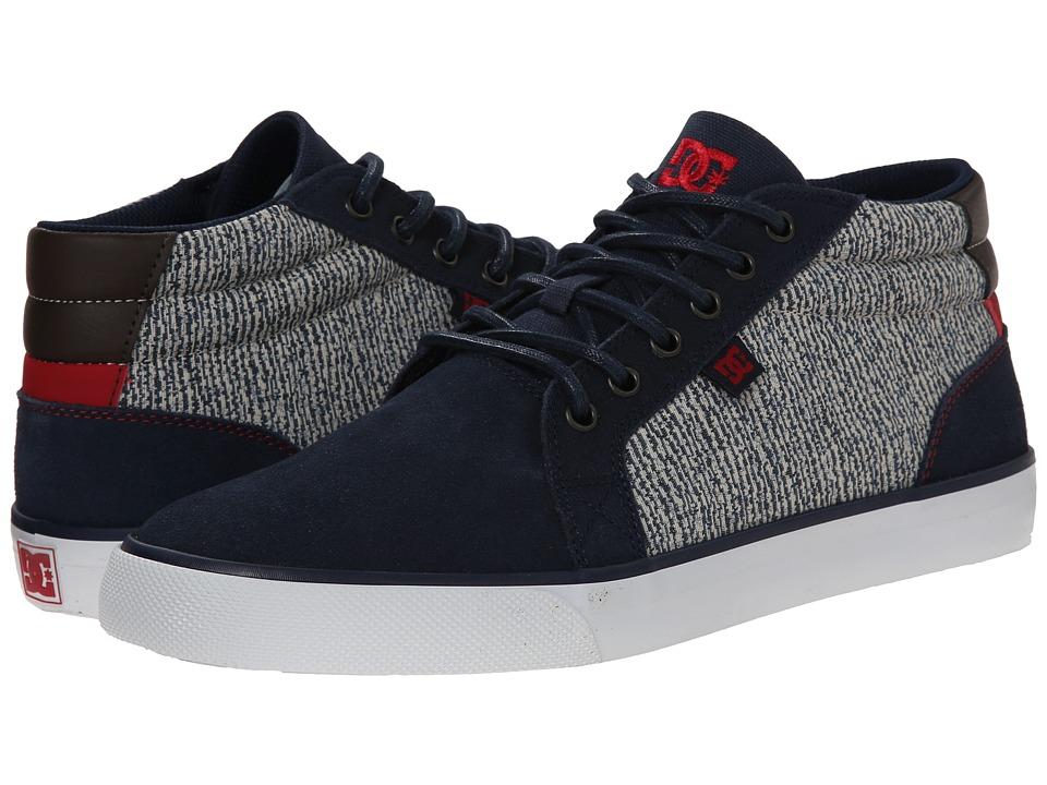 DC - Council Mid SE (Black/Grey) Men's Skate Shoes
