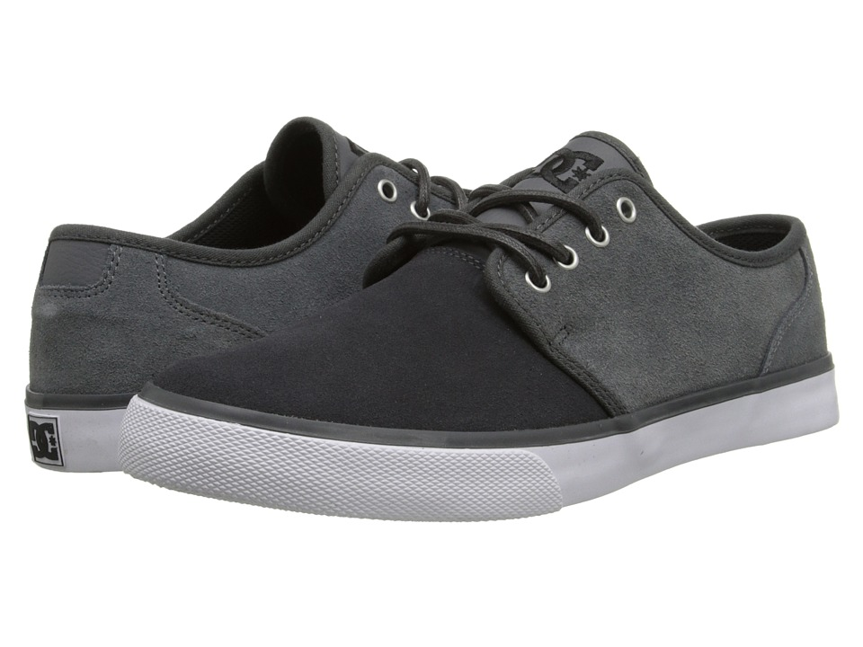 DC - Studio SD (Grey/Grey/White) Men's Skate Shoes