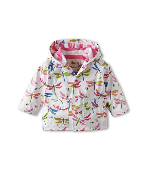 Hatley Kids - Dragonflies Raincoat (Infant) (White) Girl