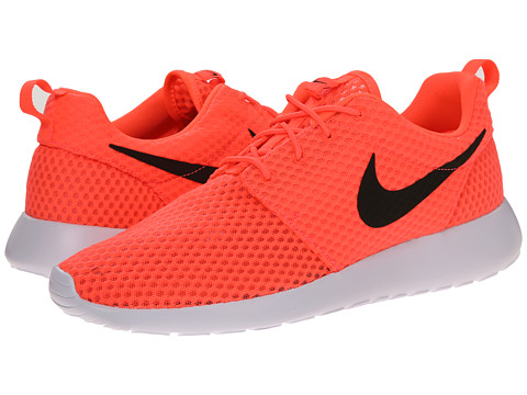 Nike - Roshe Run (Hot Lava/Black/White) Men