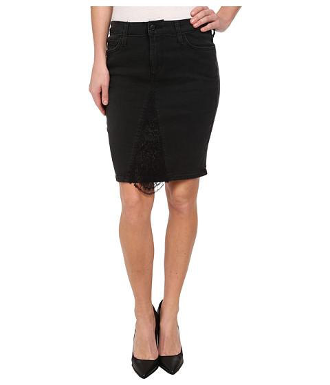 Joe's Jeans - Peek-A-Boo Pencil Skirt in Faded Black (Faded Black) Women's Skirt