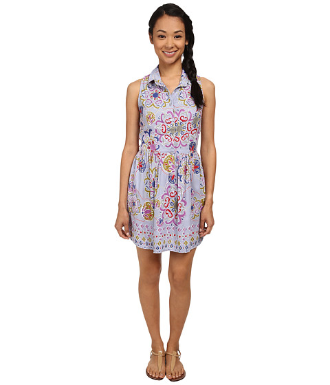 Angie - Collared Dress (Multi) Women's Dress