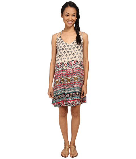 Angie - Multi-Strap T-Back Sundress (Navajo White) Women's Dress