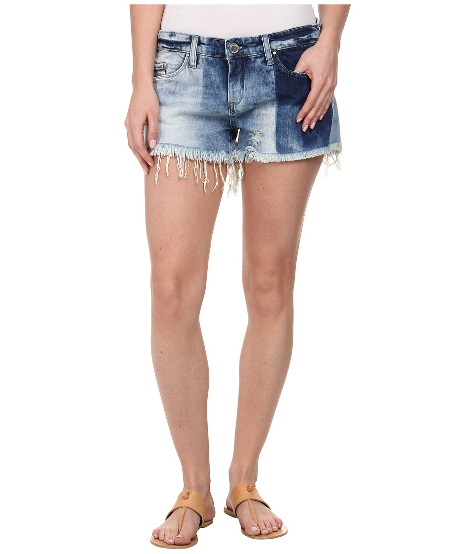 Blank NYC - Denim Block Cut Off Short in Val-Party (Val-Party) Women's Shorts