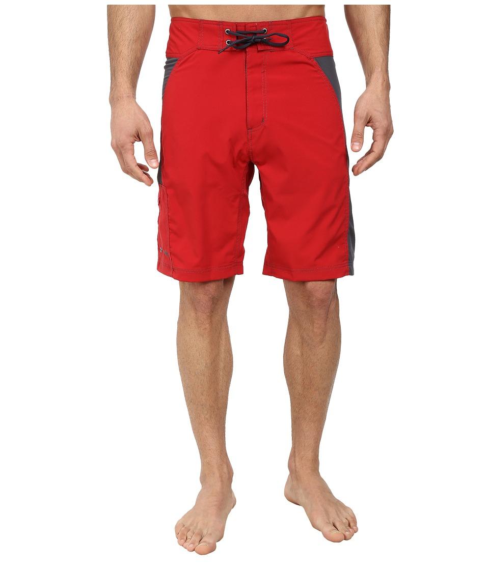 Mountain Khakis - Swiftwater Board Short (Cardinal/Granite) Men's Shorts