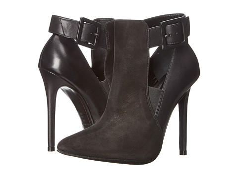 Schutz - Nadema (Black Calf Argetino/Nobuck) Women's Shoes