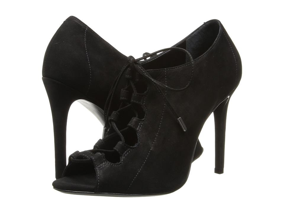 Schutz - Natalie (Black Nobuck) High Heels