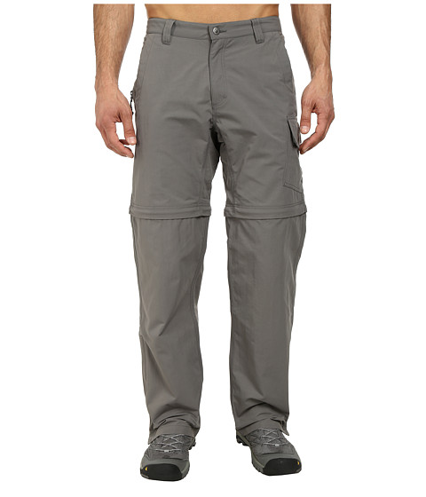 Mountain Khakis - Granite Creek Convertible (Ash) Men's Clothing