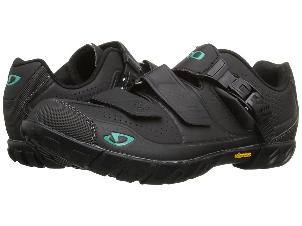 Giro - Terradura (Black/Dynasty Green) Women's Cycling Shoes