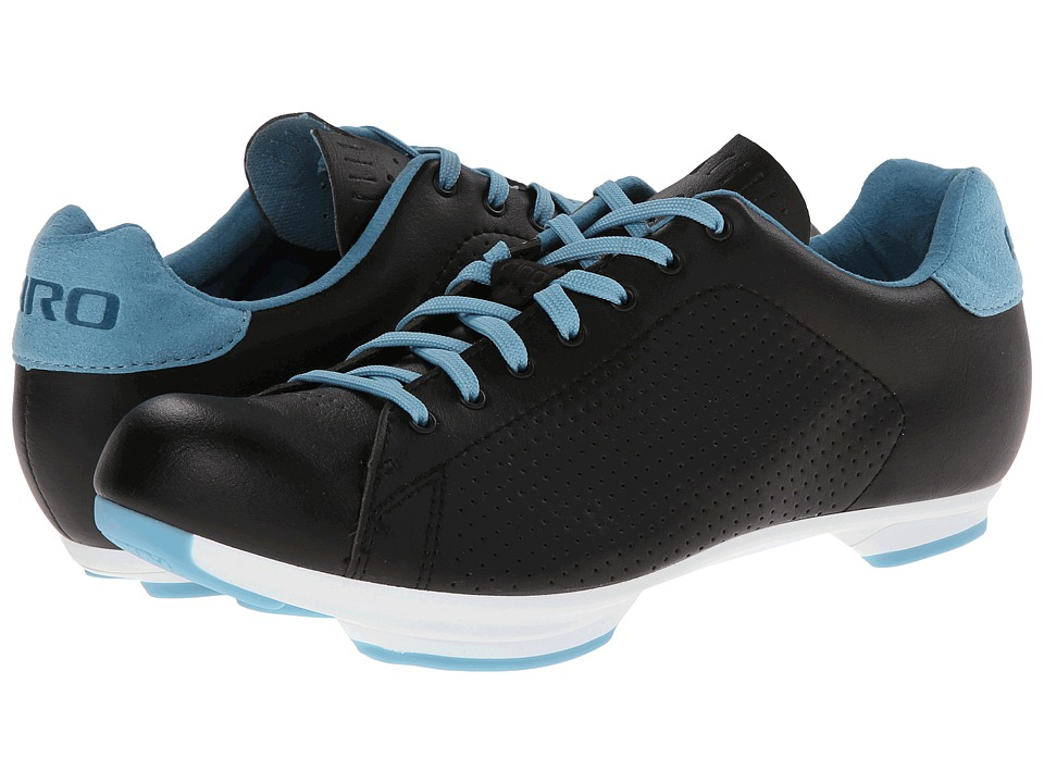 Giro - Civilia (Black/White/Blue) Women's Cycling Shoes