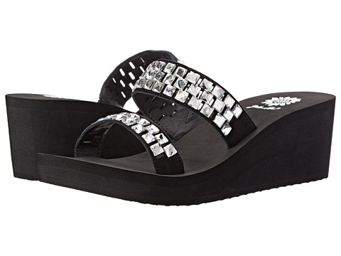 Yellow Box - Mercy (Black) Women's Sandals
