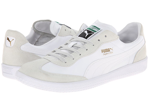PUMA - Super Liga OG Retro (White) Athletic Shoes