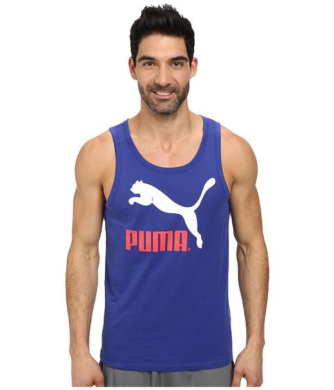 PUMA - Logo Tank (Clematis Blue) Men
