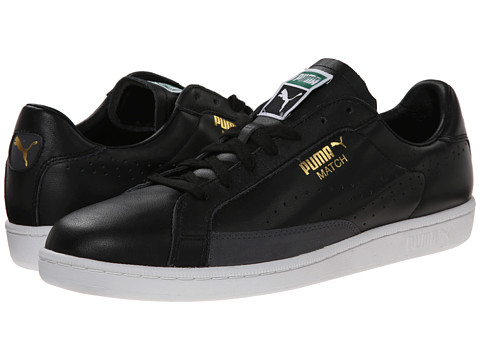 PUMA - Match 74 (Black/White) Athletic Shoes