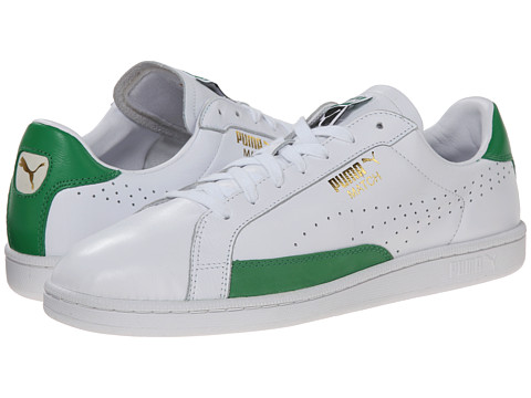 PUMA - Match 74 (White/Fern Green) Athletic Shoes