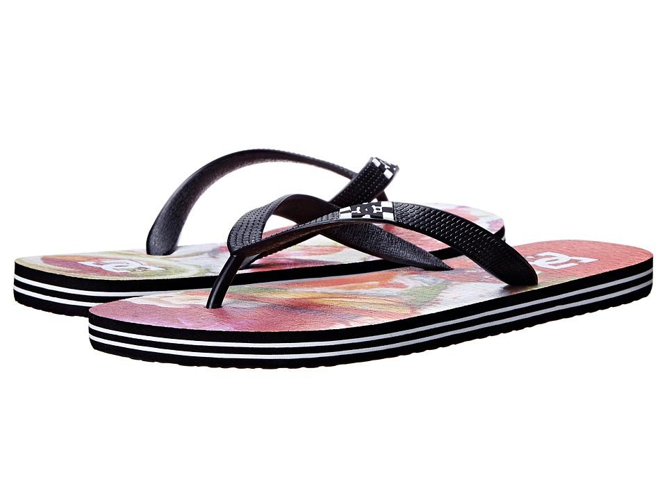 DC - Spray Graffik (Red Tone) Men's Skate Shoes