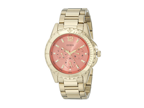 GUESS - U0590L1 (Gold/Coral) Watches