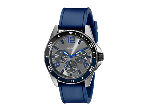 GUESS - U0593G2 (Blue/Gunmetal) Watches