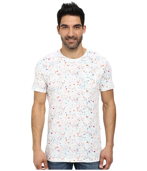 PUMA - Speckle Tee (White/Vivid Viola/Geranium/White) Men's T Shirt