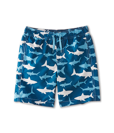 Hatley Kids - Lots of Sharks Swim Trunk (Toddler/Little Kids/Big Kids) (Blue) Boy's Swimwear