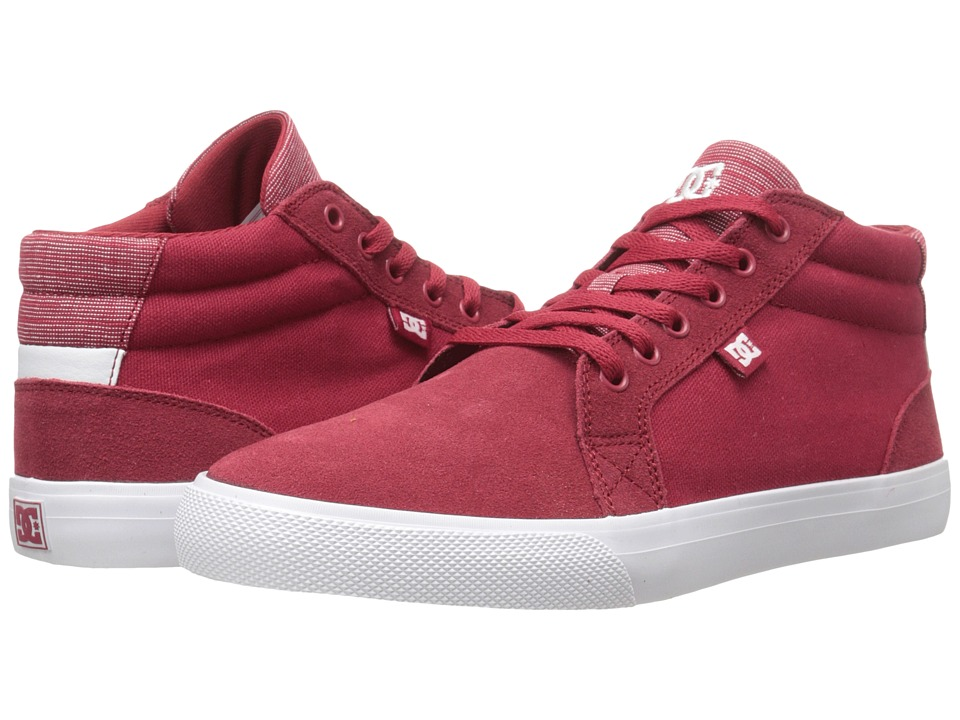 DC - Council Mid SE (Red) Women's Skate Shoes
