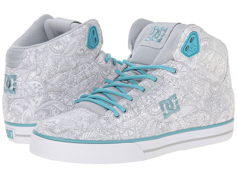 DC - Spartan High WC SP (White/Light Grey) Women