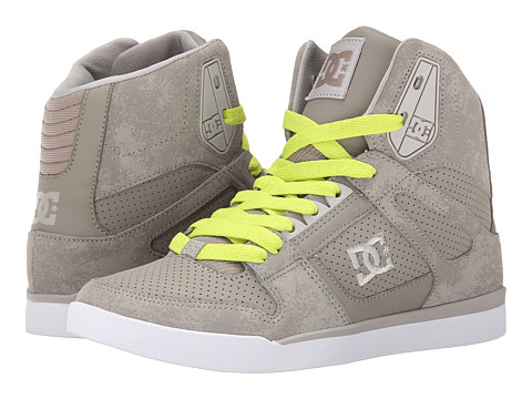 DC - Rebound Slim High (Beige) Women's Skate Shoes