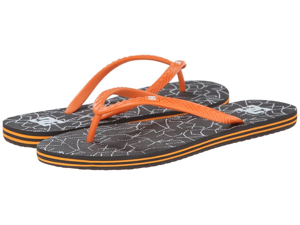 DC - Spray Graffik W (Grey/Orange) Women's Skate Shoes