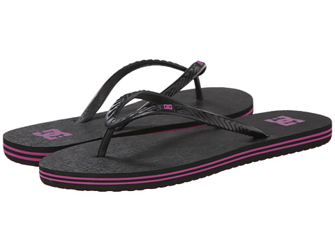 DC - Spray W (Black/Crazy Pink) Women